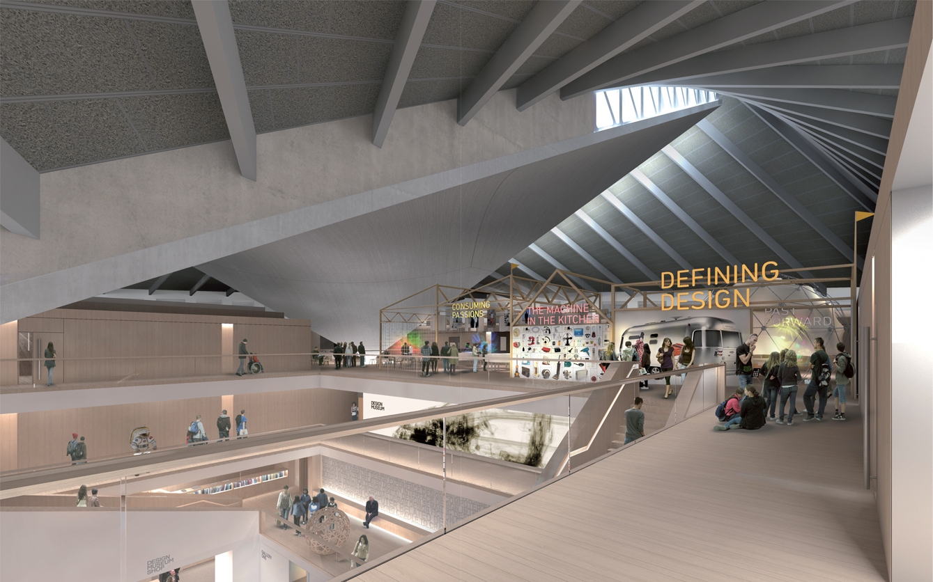 The second floor will house the permanent exhibition
