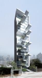 DCPP Arquitectos' 20-storey building porposal for Lima, Peru