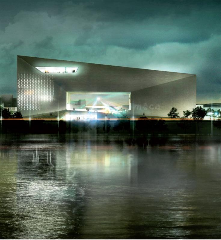 BIG's cultural arts centre in Bordeaux