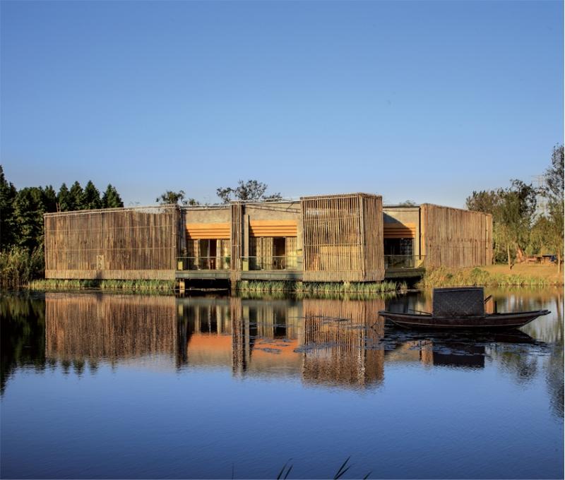 Bamboo Courtyard from HWCD Associates