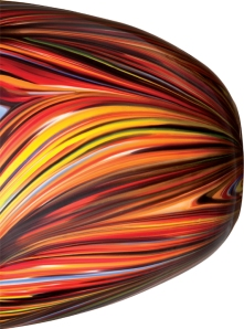 Bowl design for Target with the characteristic Missoni zigzag pattern