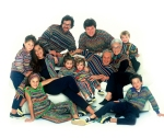 Three generations of the Missoni family
