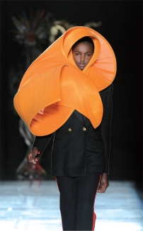 The Orange Sand Storm hat
