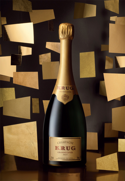 Grande Cuvée Brut, the product of as many as 1,000 tastings