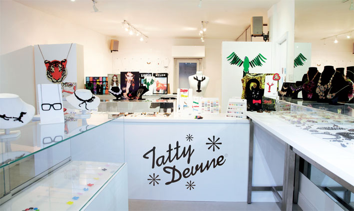 Tatty Devine is all about fun to wear, original design jewellery