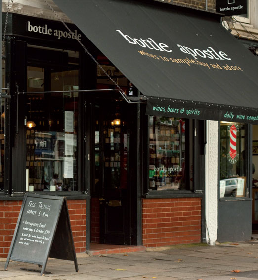 Bottle Apostle, one of the city's finest independent wine shops
