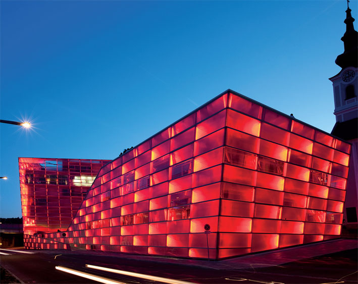 Ars Electronica's exhibition centre