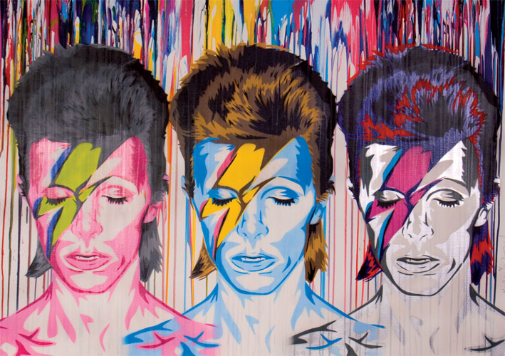 Mr Brainwash, Bowie Triptych
