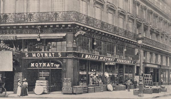 Moynat opened its first boutique in 1869 at 5, place du Théâtre Français