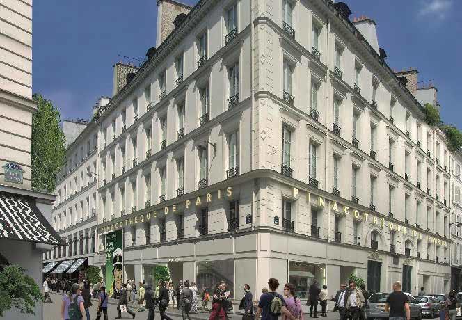 Pinacothèque de Paris,  The art gallery is located at place de la Madeleine, in the 8th arrondissement of Paris