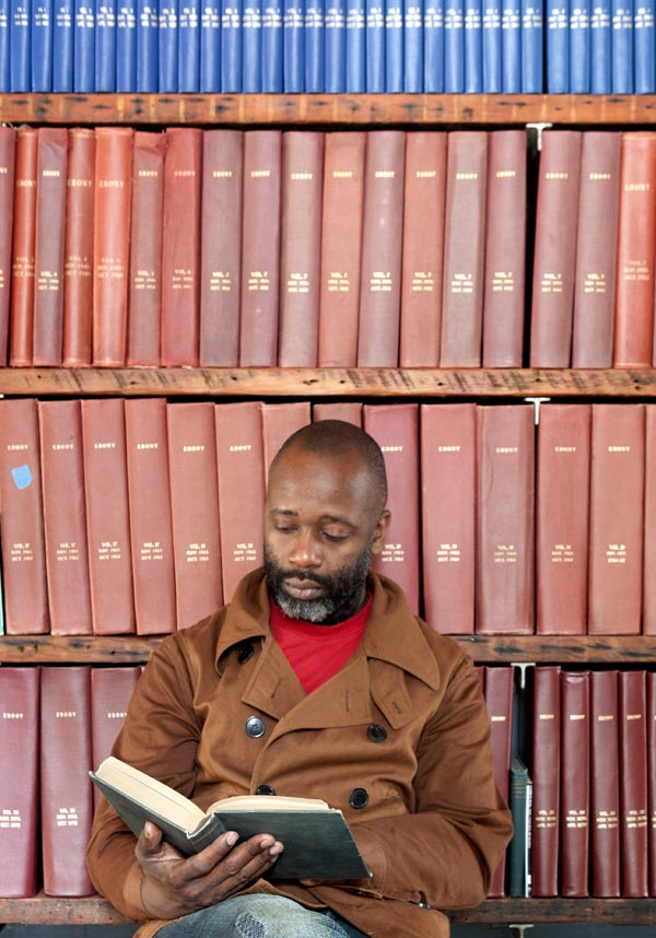 Theaster Gates Photo: Sara Pooley Courtesy White Cube