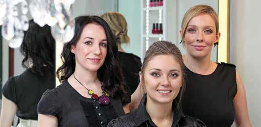 An expert team of make-up artists and beauticians make every request happen