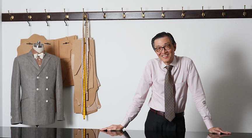 "Thomas Wong - 'Shi Fu"" has been in the tailoring business for 56 years"