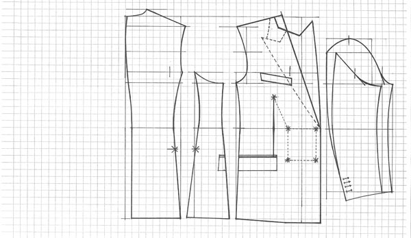 Every aspect — the cut, darts, seams, fabric and accents — plays an important role in the final product
