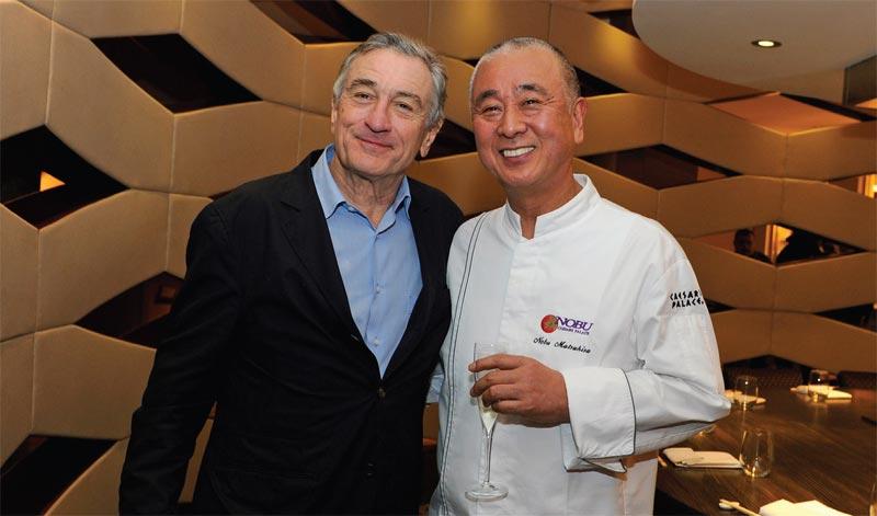 Robert De Niro and Nobu Matsuhisa