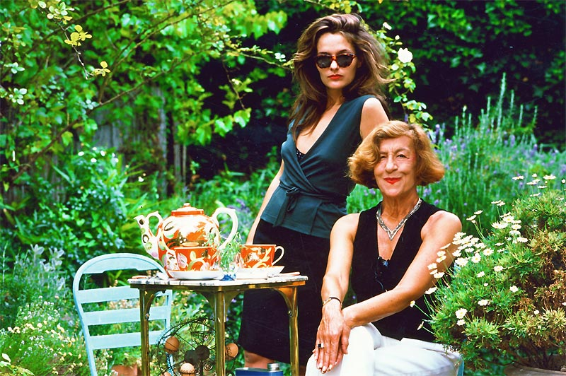 Mother and Daughter Olivia (left) and Andrée shared similar design sensibilities
