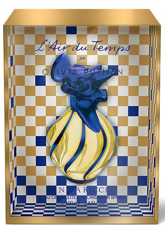 Elegant Lines Nina Ricci's L'Air du Temps perfume is an example of Putman's inclination for timeless design