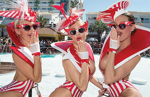 Pool Party - The Tower hosts renowned, exclusive daytime parties featuring top-notch live performances