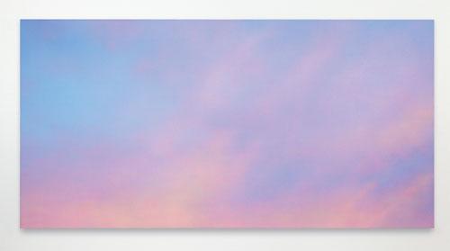 Alex Israel: Sky Backdrop, 2012