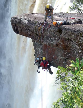Going over the edge with Epic Tomato's first Guyana and Venezuela adventure