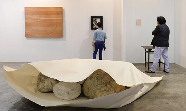 Susumu Koshimizu Paper, 2013 Gallery Yamaki