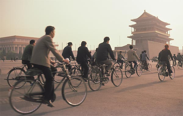 China's cities have come a long way from its heydays of bicycles, spittoons and Mao