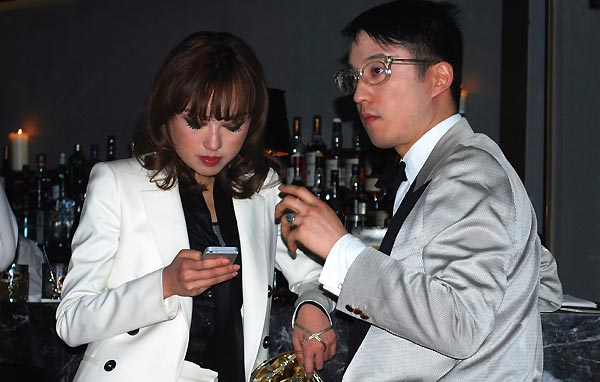 Jeffrey, editor at Beijing-based Lifestyle Magazine and Juli of Mario Testino's studio, regularly frequent CICADA
