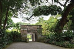 Fort Canning Gate - Constructed in 1846, the Gothic Gates still stand today as the entrance