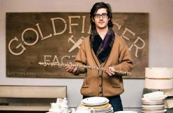 Oliver Waddington-Ball - The 29-year old 'eco-preneur' founded the Goldfinger Factory