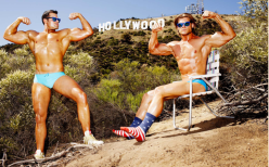 Tony Kelly: 'Body Builders' for 'L'Officiel Hommes', Germany (September 2014)