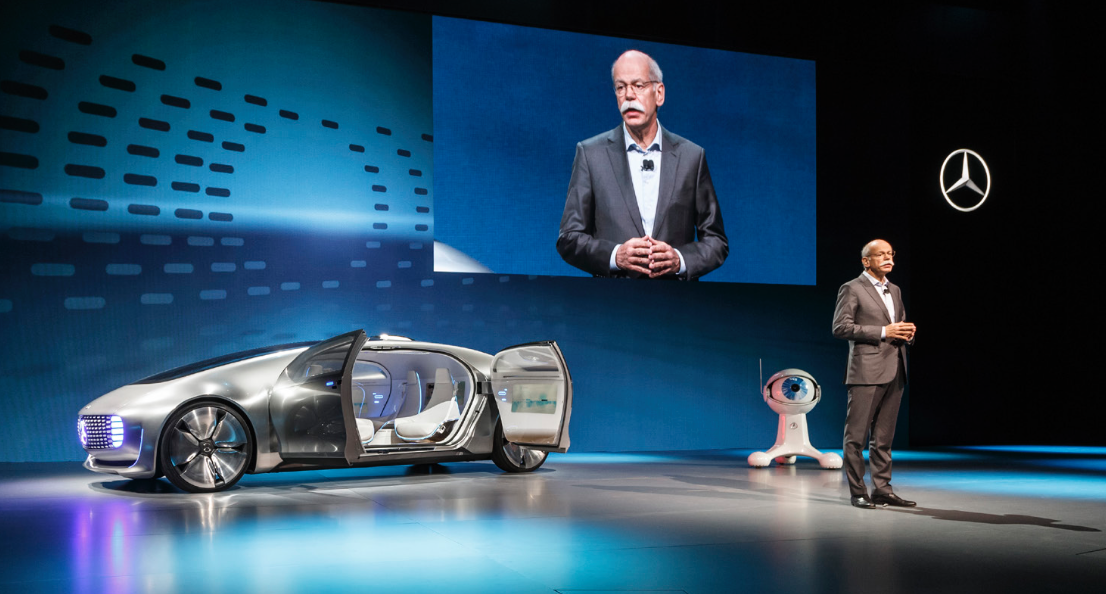 Look, no hands: the Mercedes F 015 driverless car | LUX Mag