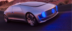 Tomorrow's World: The driverless Mercedes F 015 takes to the road