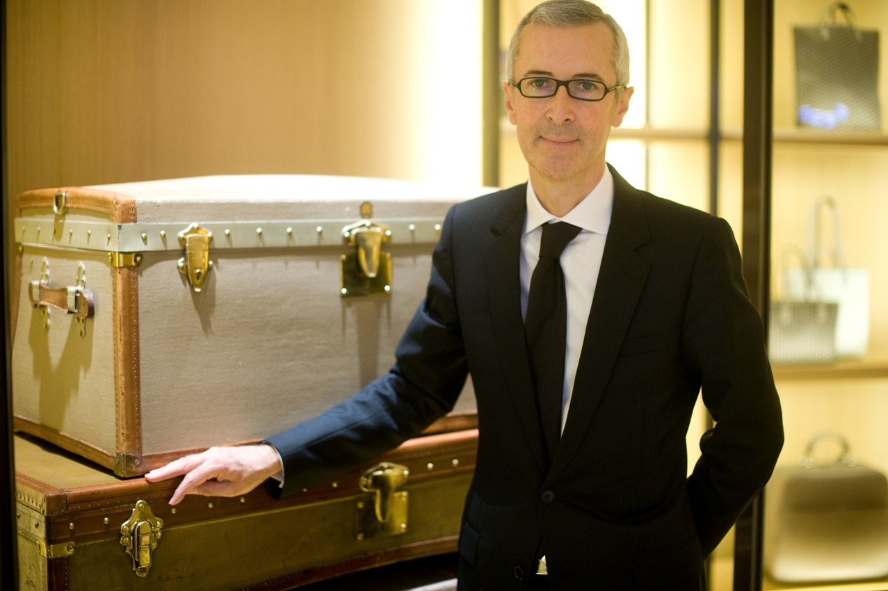 CEO of Moynat, Guillaume Davin