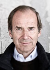 Portrait of world renowned art auctioneer, Simon de Pury