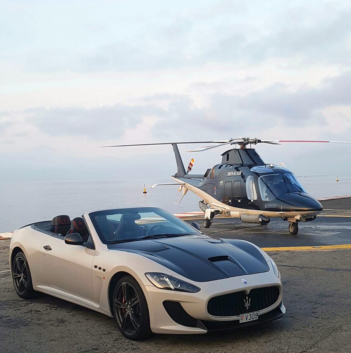 Maserati GranCabrio in Monte Carlo