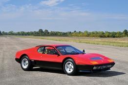 Vintage Ferrari sportscar