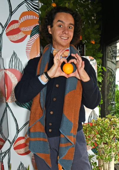Alfred Cointreau at launch of #1Orange1Tree Social Project