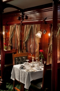 Rovos rail dining car