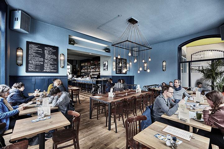 Amsterdam bar, Sanders